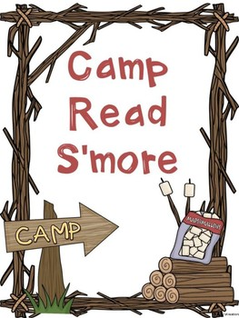 Free Camp Read S'more Sign
