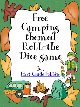 Free Camp-themed Roll-the-Dice Game (+2 and +3 Versions)