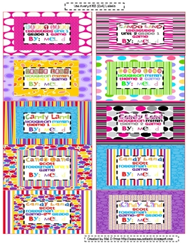 Free Candy Land Organizational Labels (#4)
