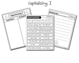 Free! Capitalizing I Sentence Sort