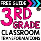 Classroom Transformations Guide -  3rd Grade Math Standards