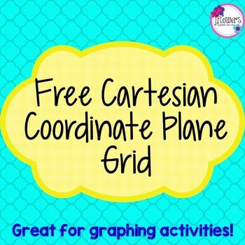 Free Cartesian Coordinate Plane Grid