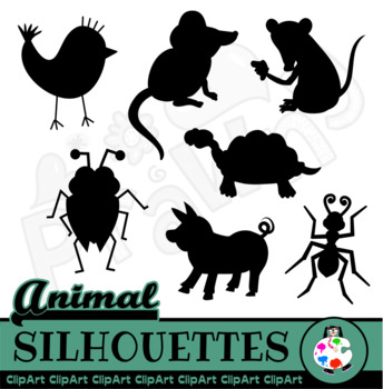 Free Cartoon Silhouette Animals