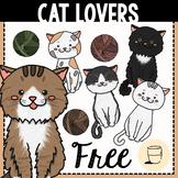 Free Cat Lovers Clip Art