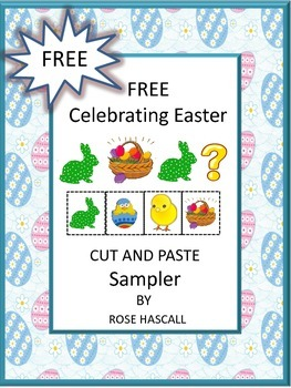 Free Celebrating Easter Cut and Paste Free Sampler