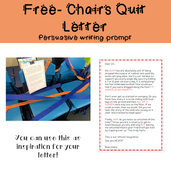 Free- Chairs Quit Letter