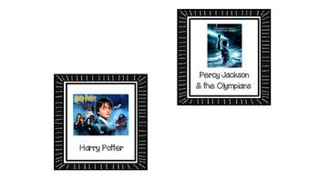 Free Chalkboard Classroom Library Book Bin Labels