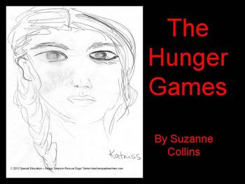 Free Chapter 2 The Hunger Games SPED/ELL/Autism