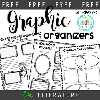 Free Character vs. Problem Graphic Organizer