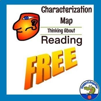 FREE Character Traits Graphic Oraganizer