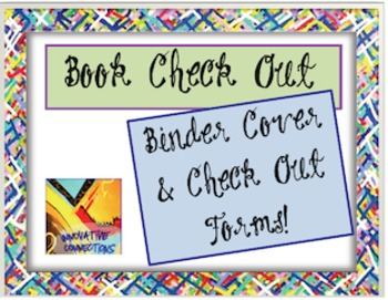 Free Check Out Chart and Binder Cover