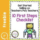 Free Checklist to Start Selling on TPT