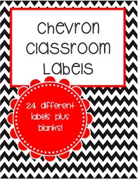 image regarding Free Printable Classroom Labels With Pictures identify No cost Chevron Clroom Labels (Printable)