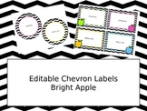 Free Chevron Labels