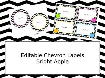Free Chevron Labels