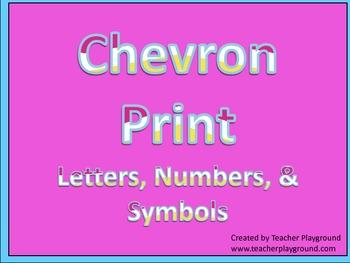 Free Chevron Print Set