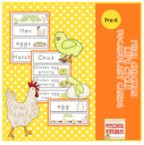 Free Chicken Life Cycle Vocabulary Cards