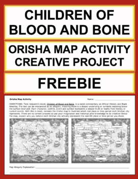 Free Children of Blood and Bone Map Activity: Allegory Analysis