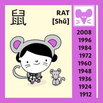 Free Chinese Zodiac Posters