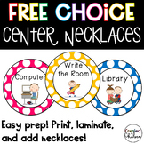 Free Choice Center Necklaces
