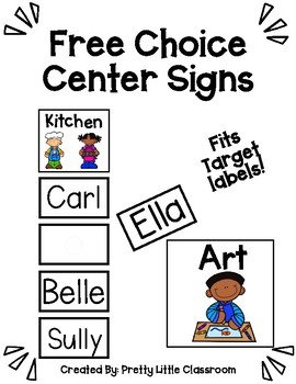 Free Choice Center Signs