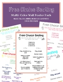 Free Choice Seating Wall Poster - Multicolor Pack