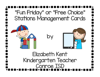 Free-Choice Stations Cards for Management Board