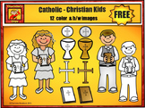 Free Catholic - Christian Clip Art by Charlotte's Clips