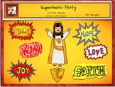 Free Catholic - Christian Superhero Clipart from Charlotte