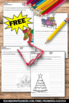 FREE Christmas Writing Papers for Literacy Centers Activities