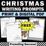 FREE Printable Christmas Writing Papers