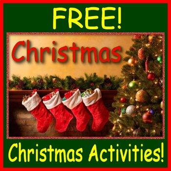 Free Christmas Activities!