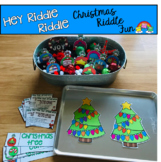 """Free Christmas Activities: """"Hey Riddle Riddle"""" Activities"""