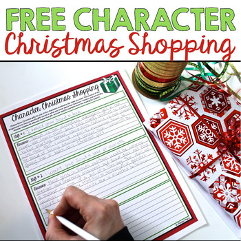 FREE CHRISTMAS ACTIVITY: Character Christmas Shopping