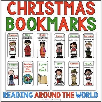 Free Christmas Around the World Book Marks