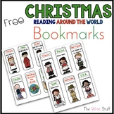 Free Christmas Around the World Book Marks