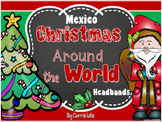 Free!  Christmas Around the World Retelling Headbands {Mexico}