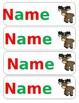 Free- Christmas Bookmarks - Editable - add you student's names