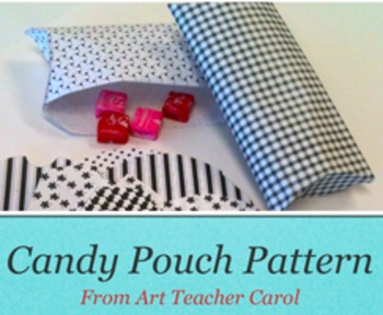 Christmas Candy Pouch Printables