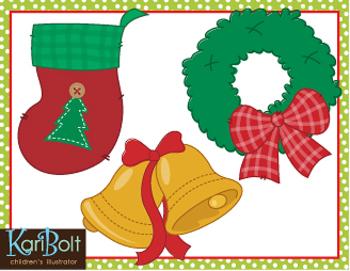 free christmas clip art by kari bolt clip art teachers pay teachers rh teacherspayteachers com Cute Clip Art for Teachers Cute Clip Art for Teachers