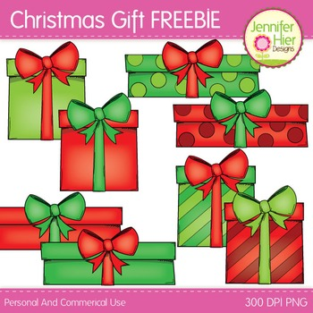 Free Christmas Clip Art: Christmas Gift Freebie