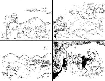 Free Christmas Coloring Pages by Out of This World ...