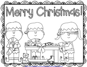 {Free} Christmas Coloring Pages
