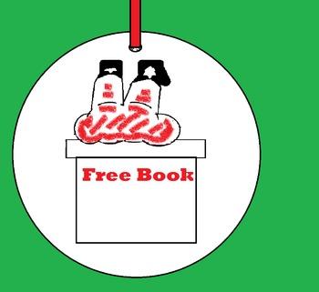 Free Christmas Craft Santa Stuck Ornament