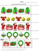 Free-Christmas Cut and Paste Math & Literacy Worksheets Kindergarten Centers