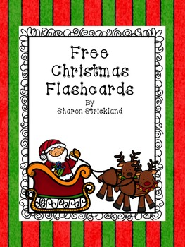 Free Christmas Flashcards