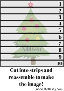 Free Christmas Learning Pack
