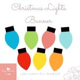 Free Christmas Lights Printable