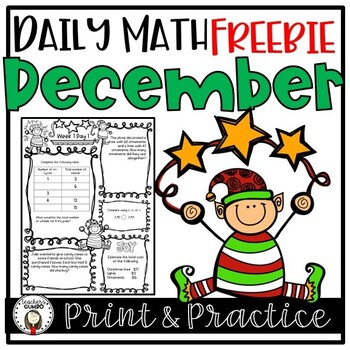 Free Christmas Math Worksheets and Assessments
