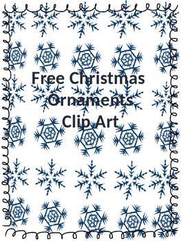 Free Christmas Ornaments Clip Art